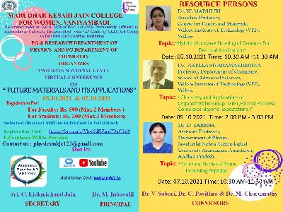 Physics & Chemistry - National Level Conference on