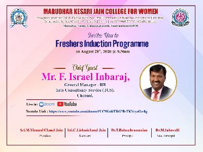 Freshers Induction Programme